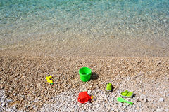 Children beach toys Royalty Free Stock Image