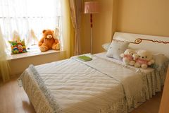 The children bedroom interior Stock Photo