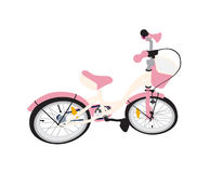 Children Bicycle. Isolated Royalty Free Stock Images
