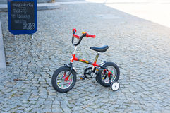 Children bicycle Royalty Free Stock Image