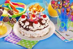 Children birthday party Stock Photography