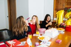 Children at birthday party Royalty Free Stock Photo
