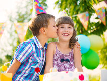 Children birthday party Royalty Free Stock Photography