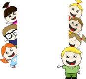 Children blank board Stock Photo