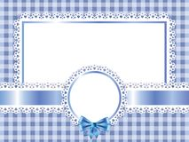 Children blue frame  background Royalty Free Stock Photography