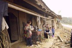 Children Blue Hmong ethnic Royalty Free Stock Image