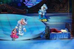 Children bożych narodzeń przedstawienie Obrazy Royalty Free