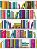 Children book shelf. Royalty Free Stock Photography