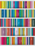 Children book shelf. Stock Images