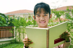 Children with books Royalty Free Stock Photography