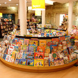 Children bookshop. Section in central Rome, Italy Stock Photography