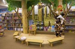 Children bookstore story area