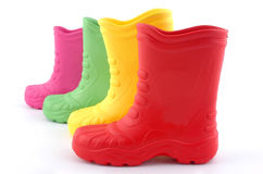 Children boots Royalty Free Stock Image