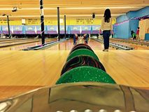 Children Bowling Stock Images