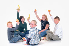 Children, brothers and sisters Stock Photography