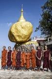 Children Buddhas Stock Image