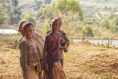 Children in Burundi. East Africa Royalty Free Stock Image