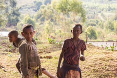 Children in Burundi Royalty Free Stock Photography