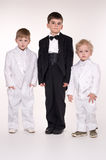 Children in  business suits Stock Images
