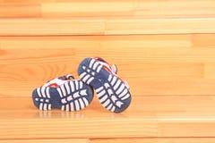 Children buty Obrazy Stock