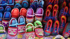 Children buty dla kilka kolorów Zdjęcie Royalty Free
