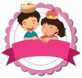 Children and cake Stock Photos