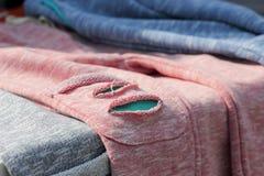 Children& x27; calças da forma de s com entalhes fotos de stock royalty free