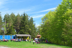 Children camp Royalty Free Stock Photography