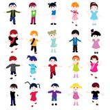 Children card Stock Photo