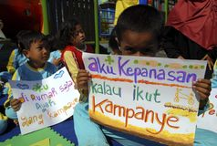 CHILDREN CARE INDONESIA Stock Images