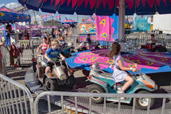 Children Carnival Ride Stock Photography