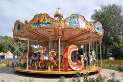 Children carousel czerepy Obraz Royalty Free