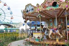 Children carousel czerepy Zdjęcie Royalty Free