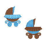 Children carriage. Royalty Free Stock Images