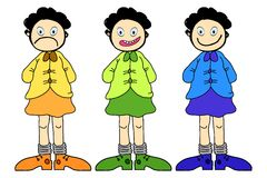 Children Cartoon Royalty Free Stock Image