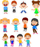 Children cartoon collection set Stock Images