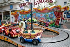 Children carusel Royalty Free Stock Photos