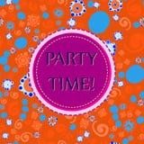 Children Celebration Print Royalty Free Stock Image