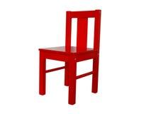 Children& x27 ; chaise en bois de s Photo stock