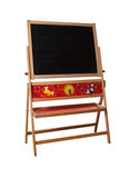 Children with chalkboard child's hand as Cut. The table is empty. Isolated, Cut outs board Stock Images