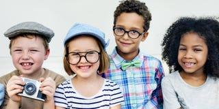 Children Child Aspiration Brave Activity Success Concept Stock Image