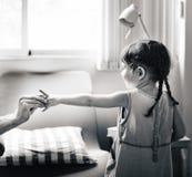 Children Childhood Daughter Girl Family Concept.  Stock Photo