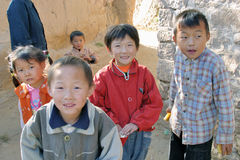 Children in China countryside Royalty Free Stock Photography