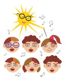 Children Choir Royalty Free Stock Photography