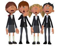 Children Chorus Stock Image