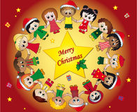 Children christmas Stock Photography