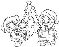 Children Christmas Royalty Free Stock Photography