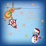 Children christmas cartoons Stock Images