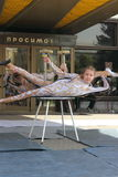 Children circus acrobats Royalty Free Stock Image