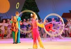 Children circus jugglers Stock Photography